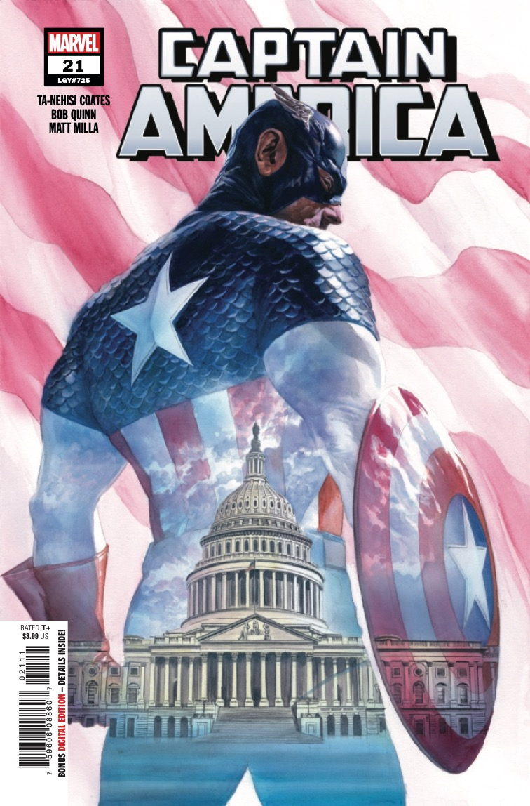 ALL DIE YOUNG continues as the time when Steve Rogers must pick up the shield and the stripes once more draws nigh!