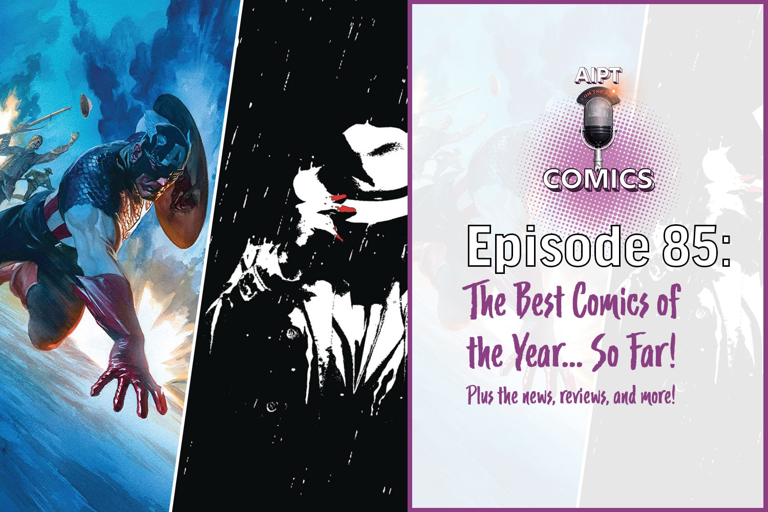AIPT Comics Podcast Episode 85: The Best Comics of the Year 2020 - So far!