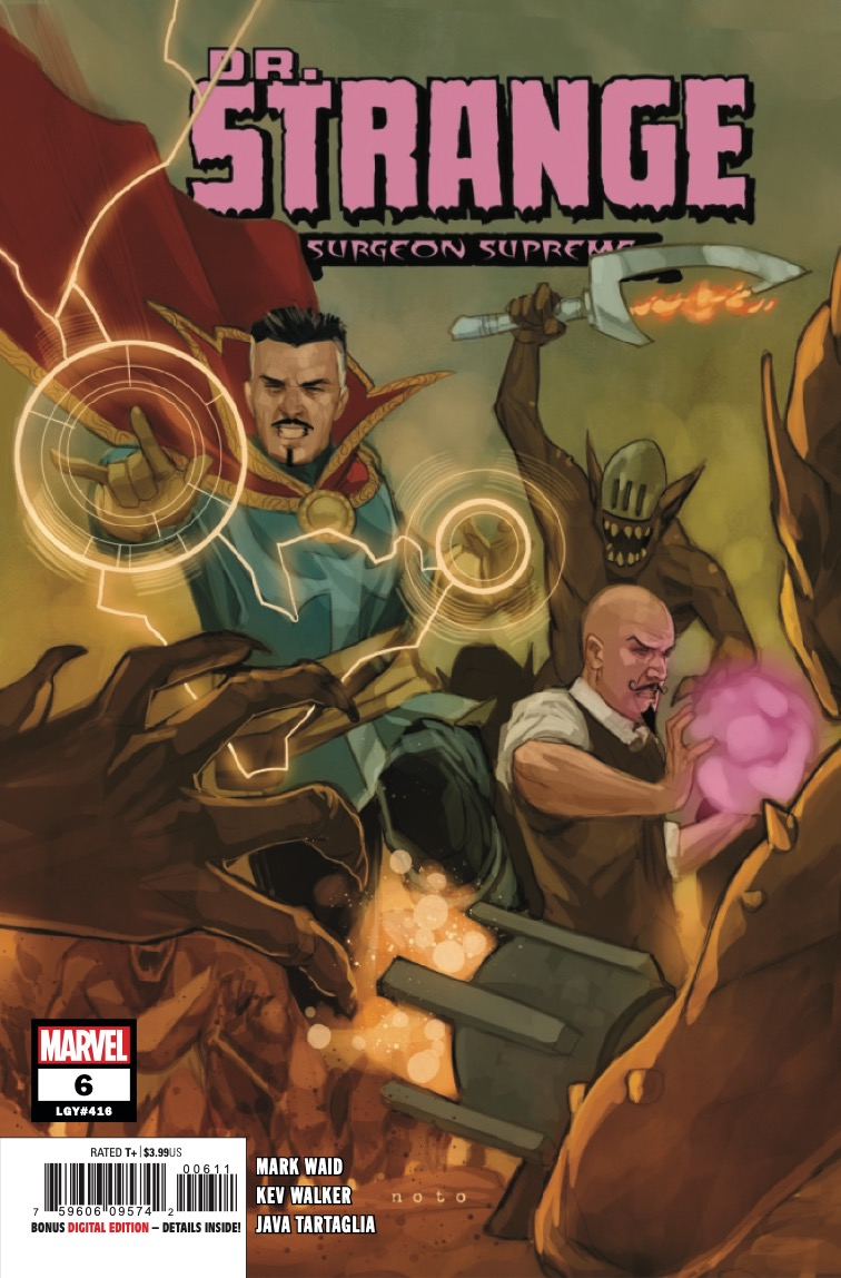 Doctor Strange is hot on the trail of the magical thief infiltrating the Sanctum Machina!