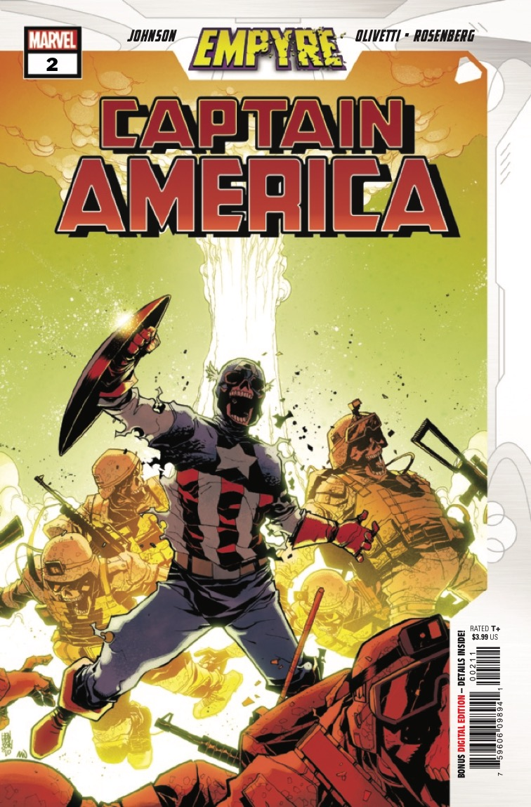 Marvel Preview: Empyre: Captain America #2