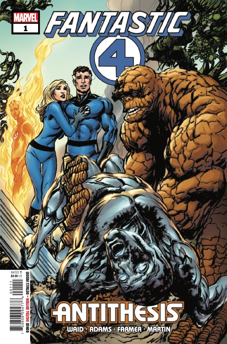The first full-length Fantastic Four story ever illustrated by classic creator Neal Adams!