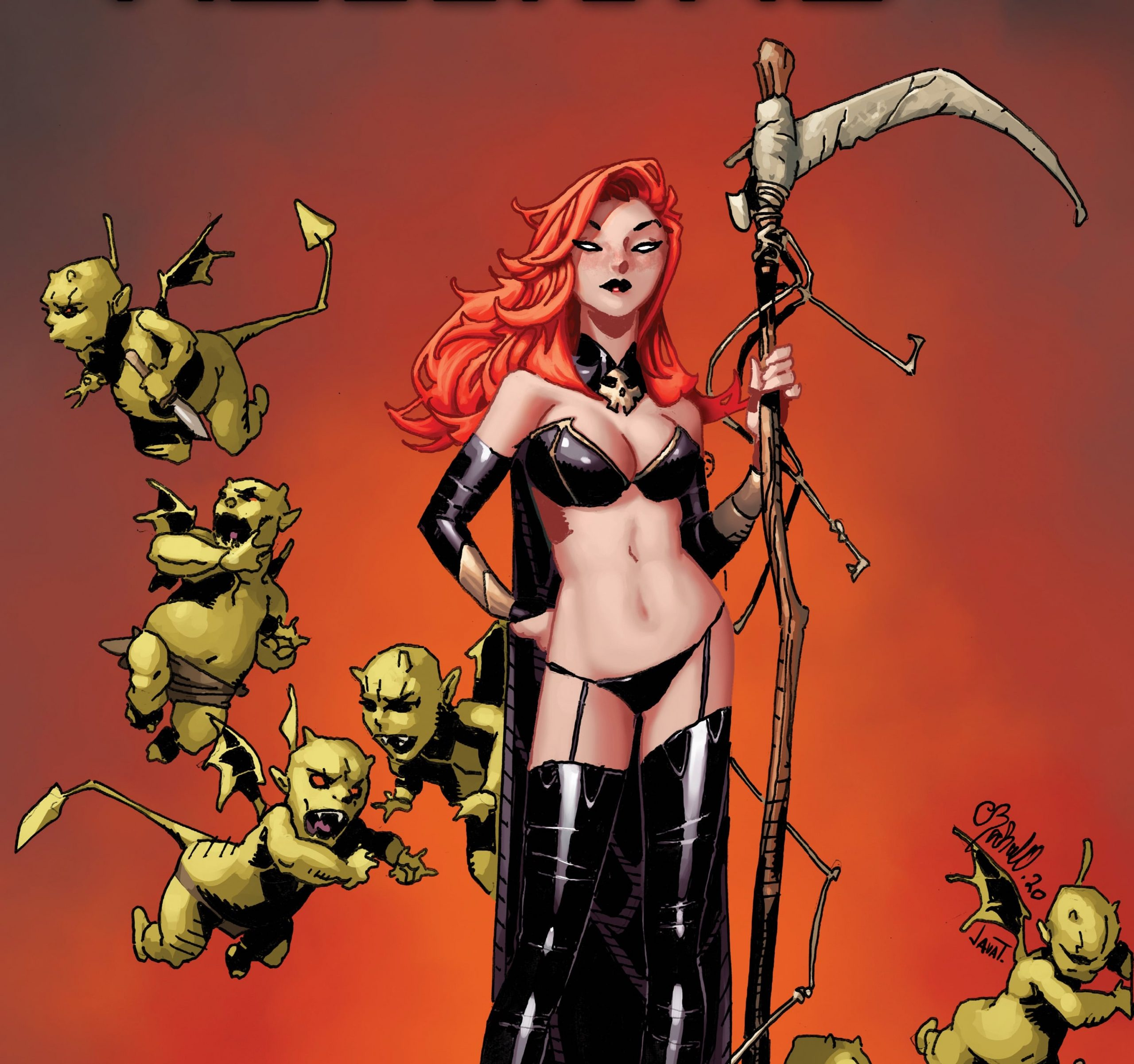 Chris Bachalo will make you fear the reaper in his 'Hellions' #4 variant cover