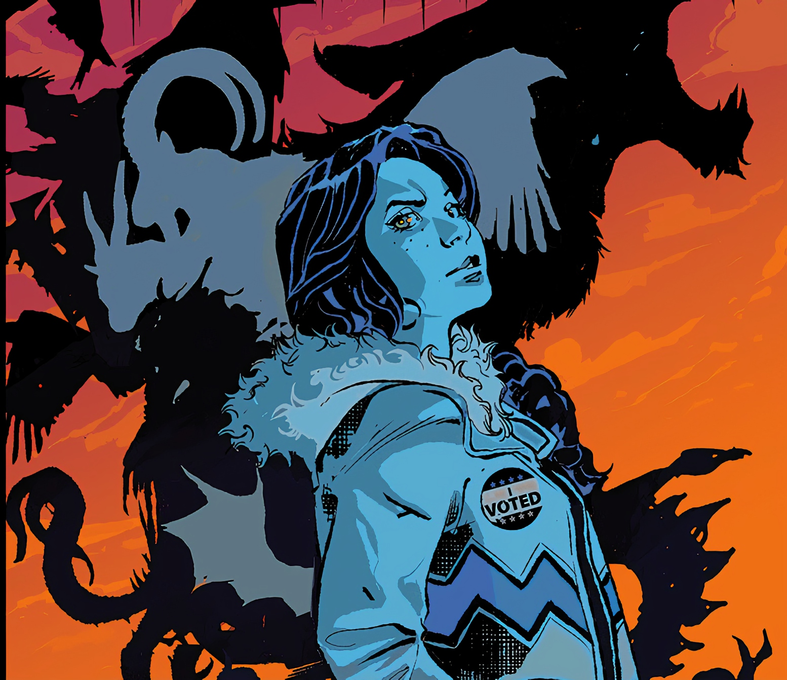I Walk With Monsters is an upcoming dark, heartfelt horror series.
