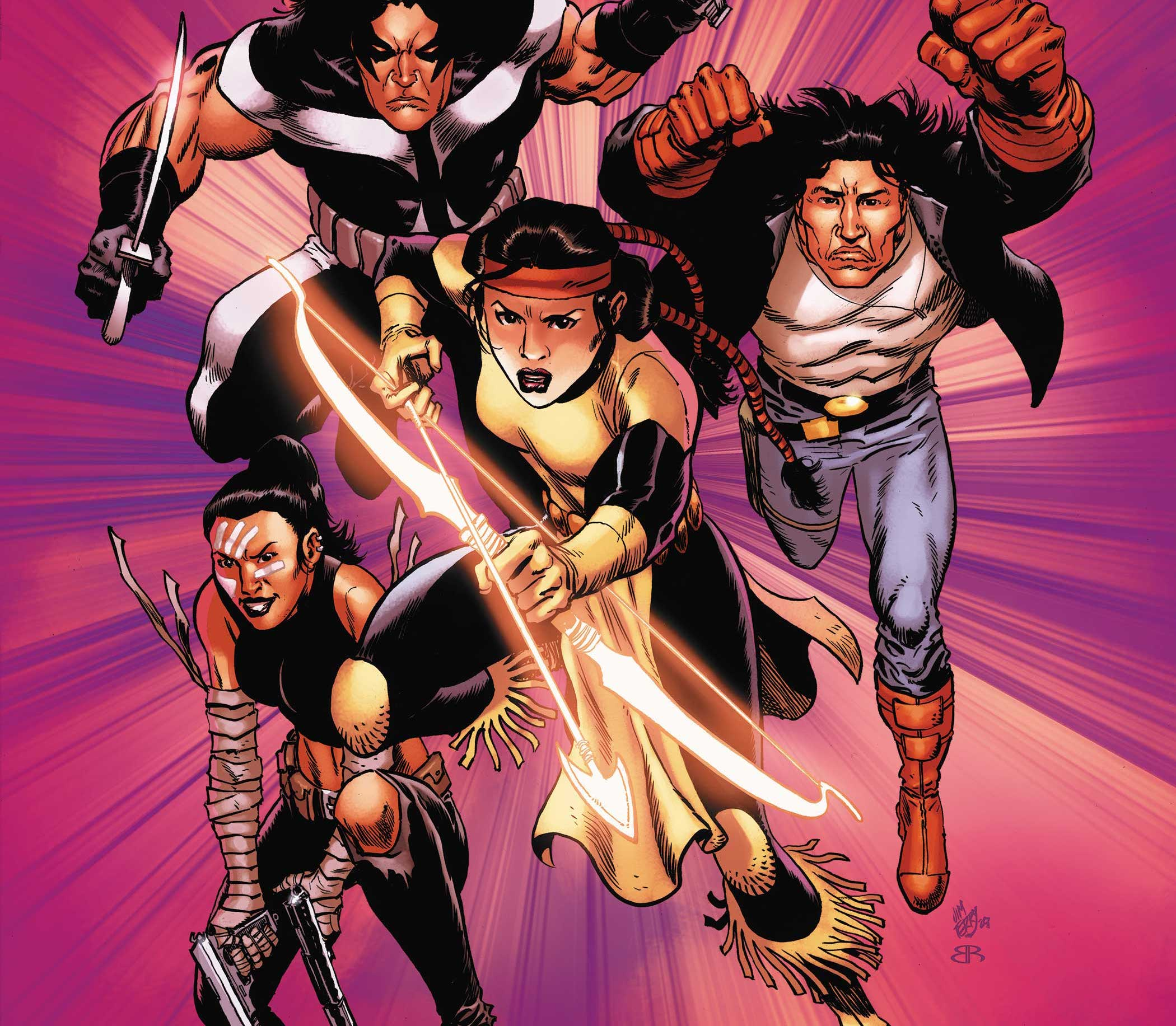 MARVEL'S VOICES: INDIGENOUS VOICES #1 kicks off the next phase of Marvel's expandedMarvel's Voicesprogram.