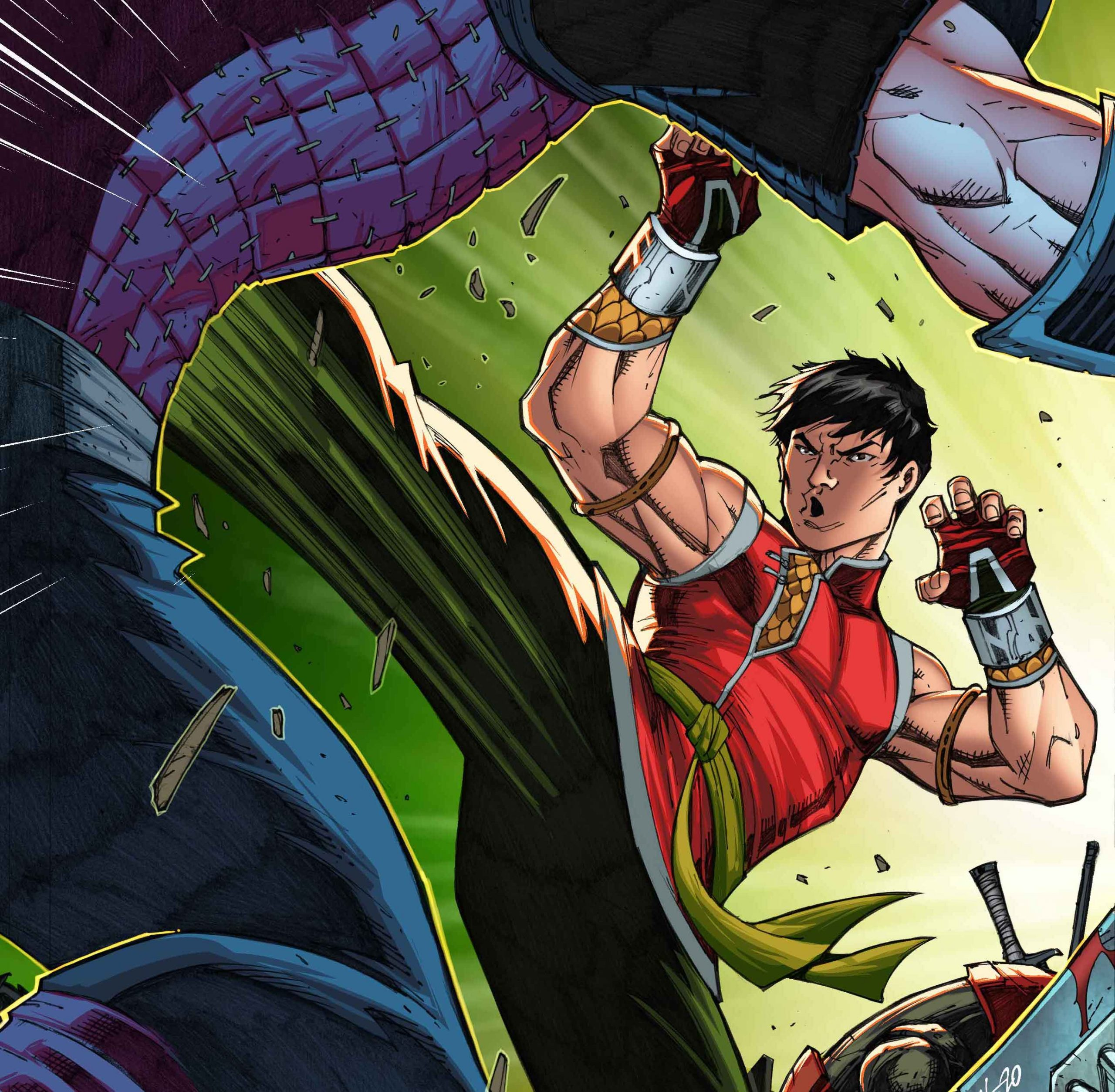 New Ron Lim 'Shang-Chi' #1 variant cover revealed ahead of September release.