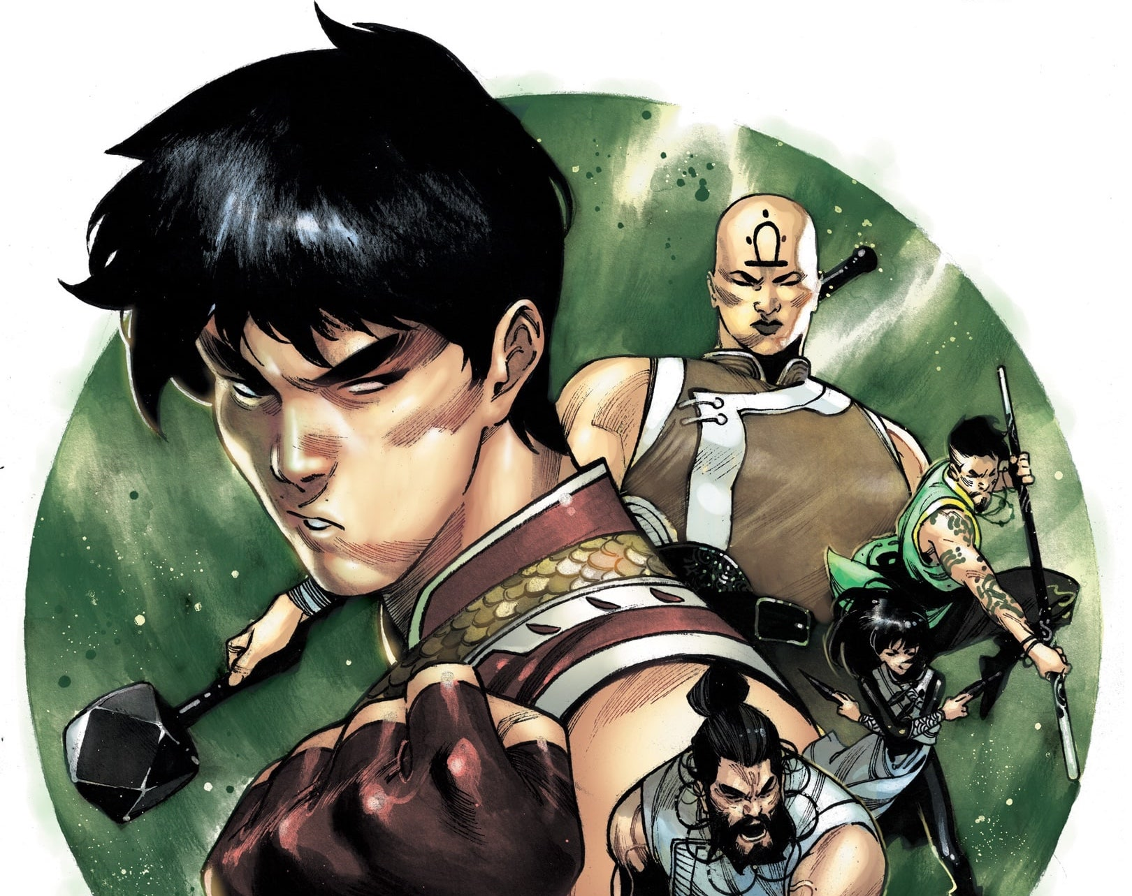 Who is The Five Weapons Society? Find out in Shang-Chi from Marvel Comics.