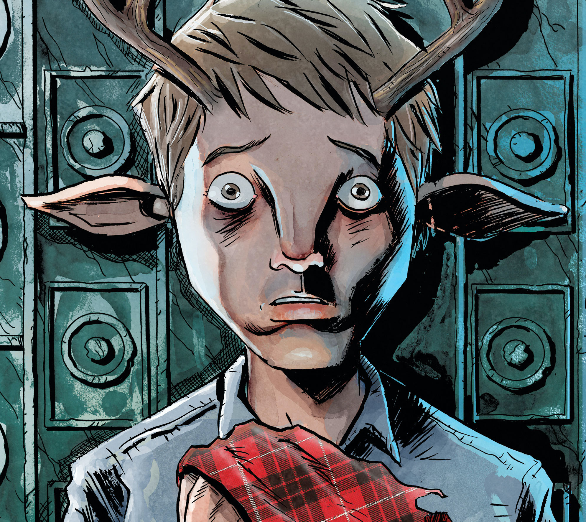 Jeff Lemire and colorist José Villarubia will deliver a 'reimagining' of Sweet Tooth.