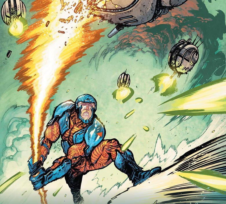 Can X-O Manowar save the day, or does the world need a new kind of hero?