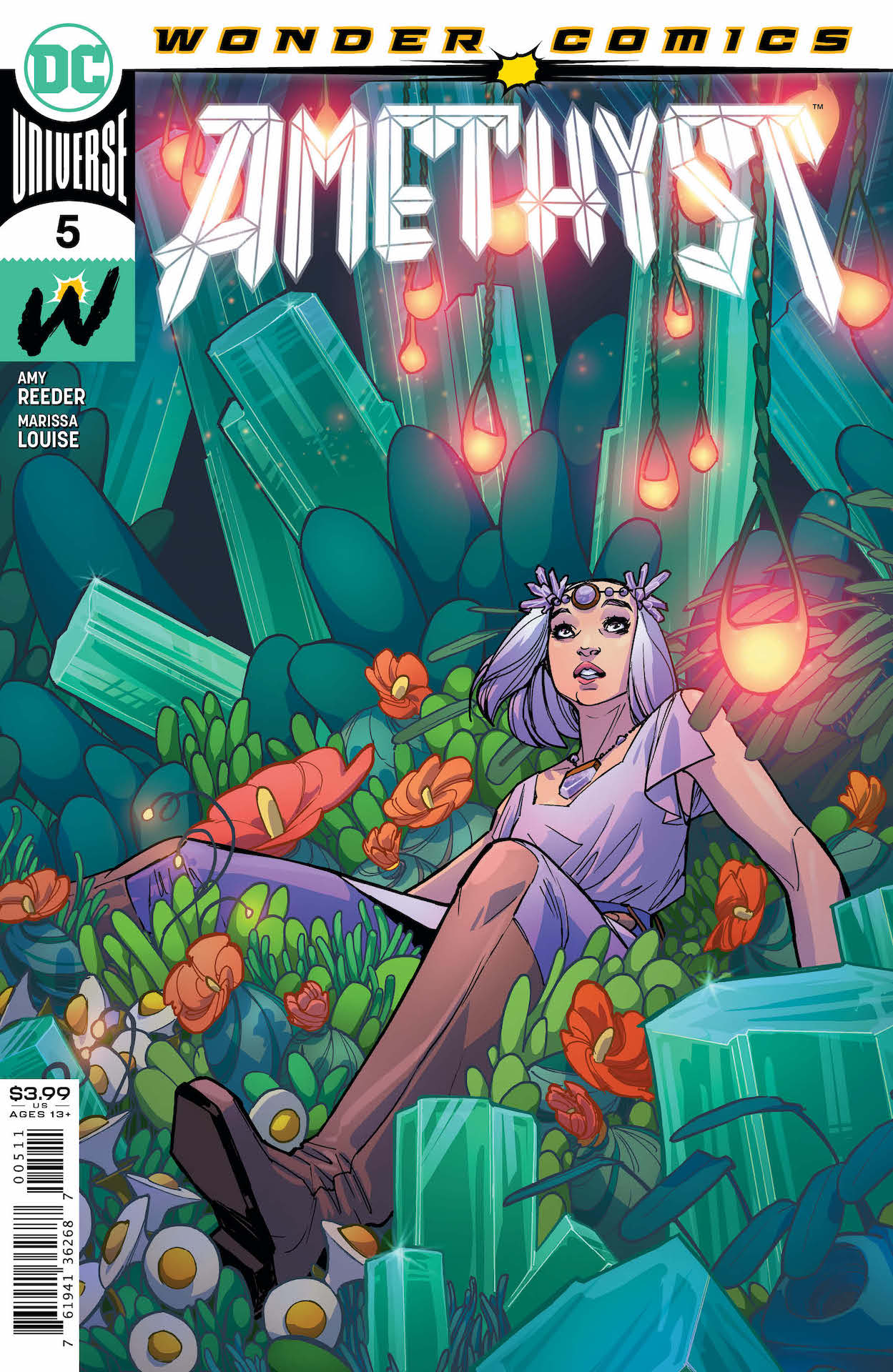 DC Preview: Amethyst #5