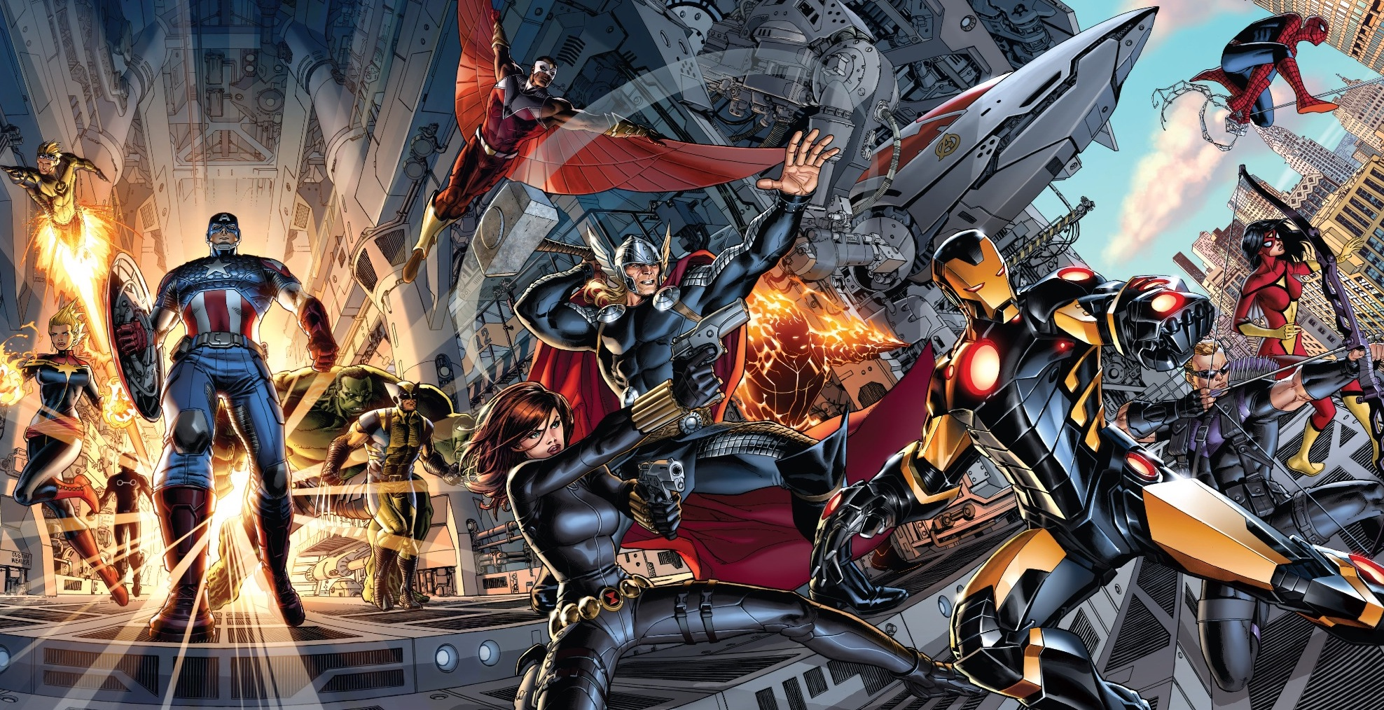 'Avengers by Jonathan Hickman: The Complete Collection Vol. 1' review