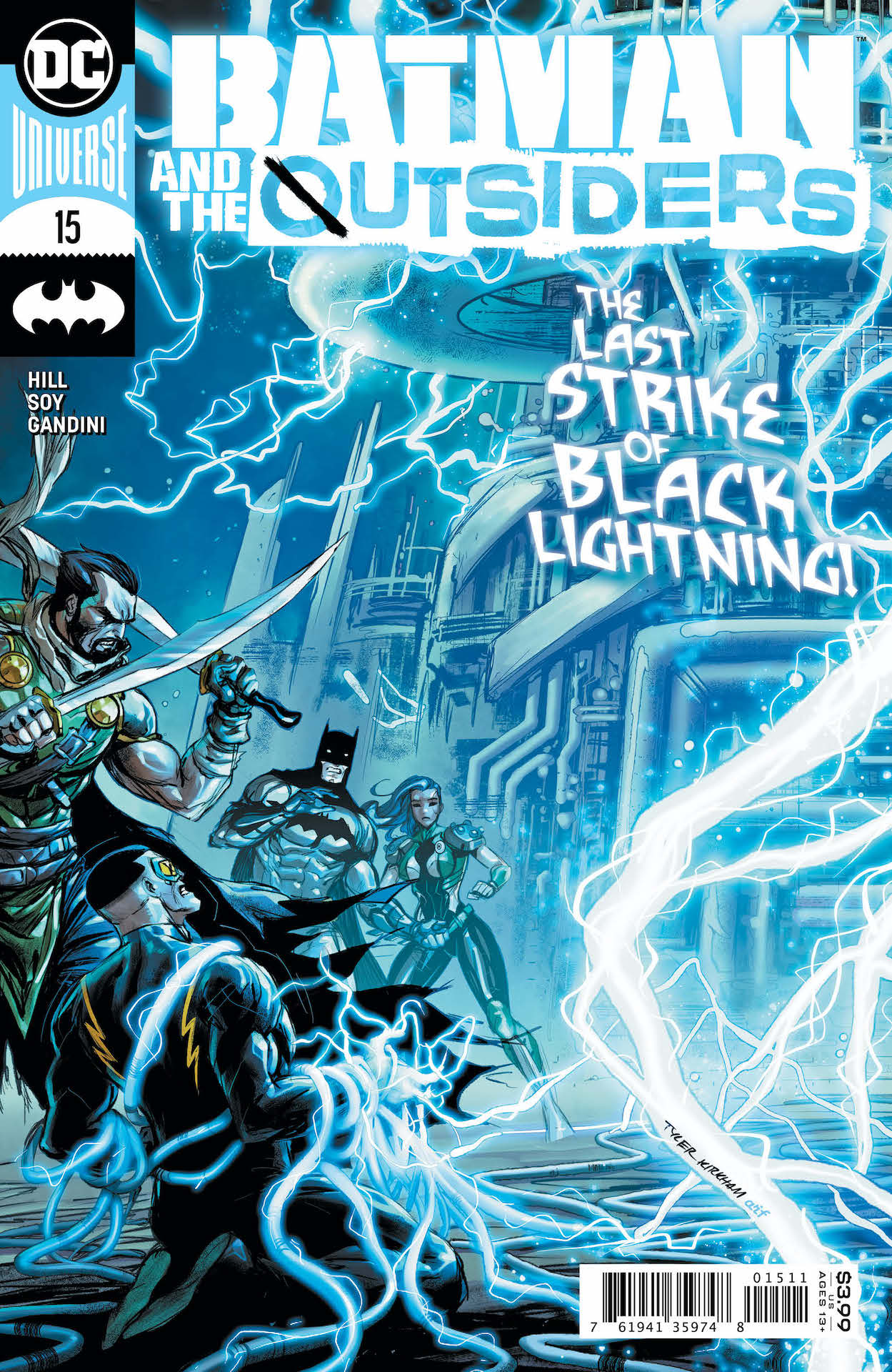 DC Preview: Batman and the Outsiders #15