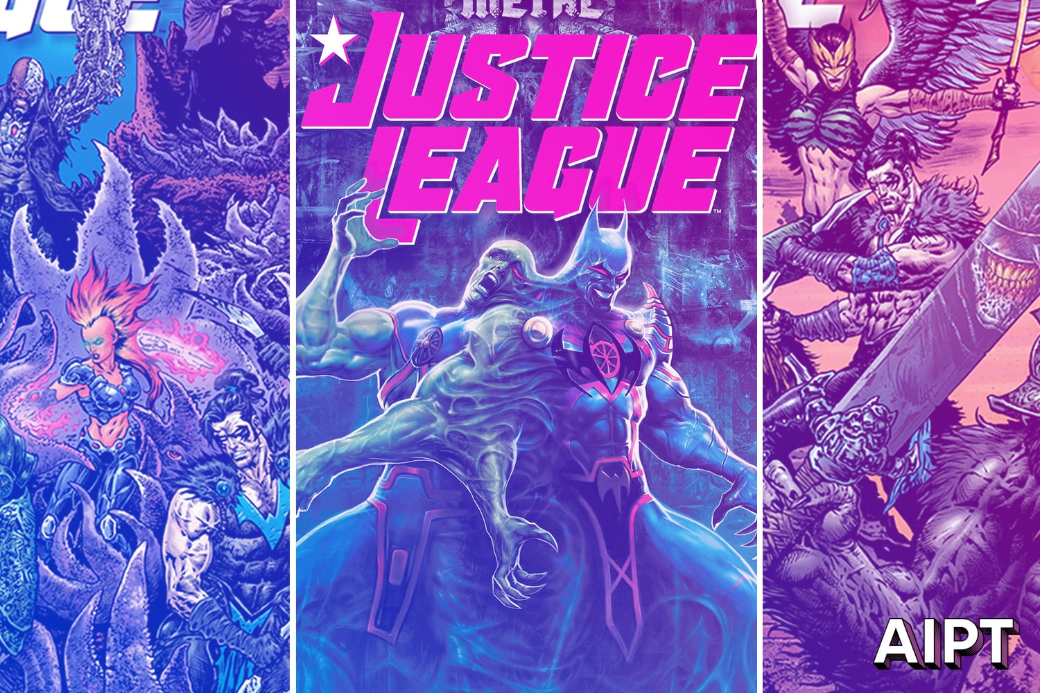 'Doom Metal' takes place in Justice League headed by Josh Williamson, Xermanico, and Robson Rocha.