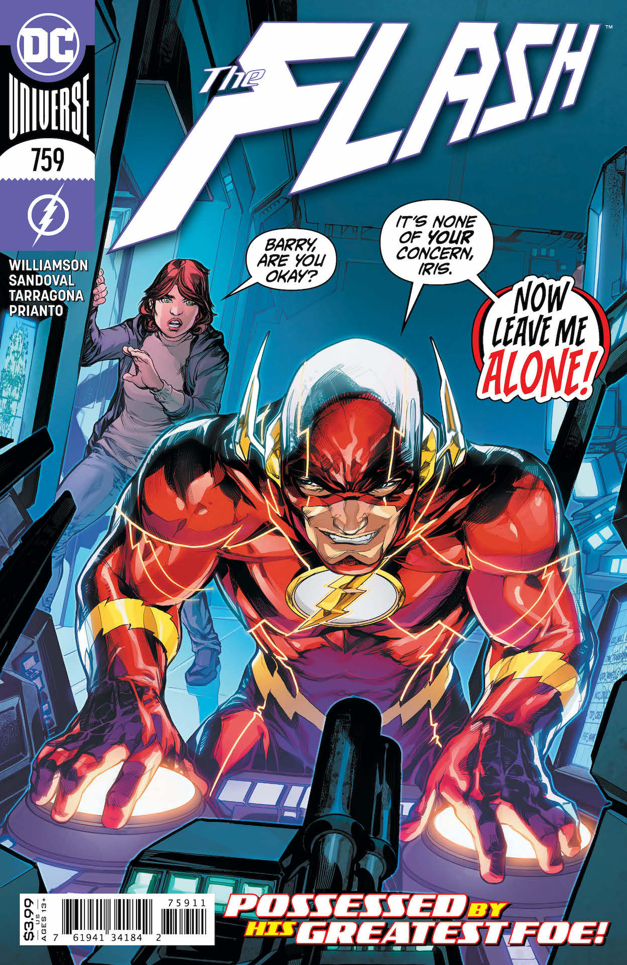 """""""Finish Line"""" part one of six –leading to the finale of Joshua Williamson's legendary run on The Flash!"""