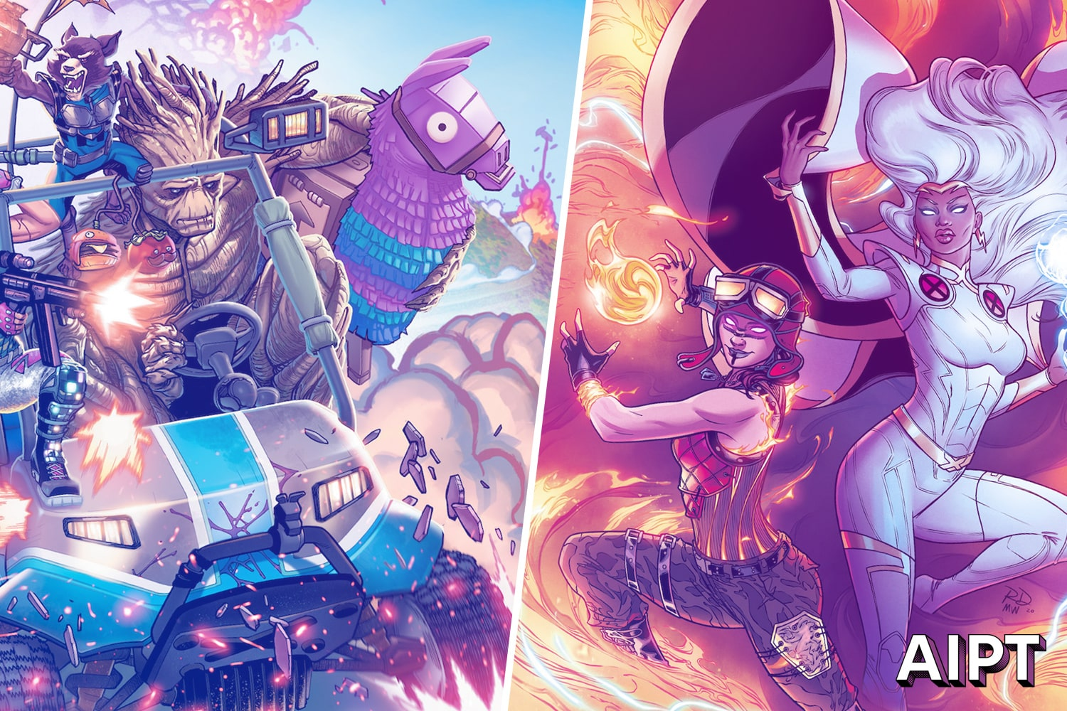 You don't have to log in to check out these Fortnite variant covers by Joe Quesada, Mark Brooks, Marco Checchetto, Ed McGuinness, and more.
