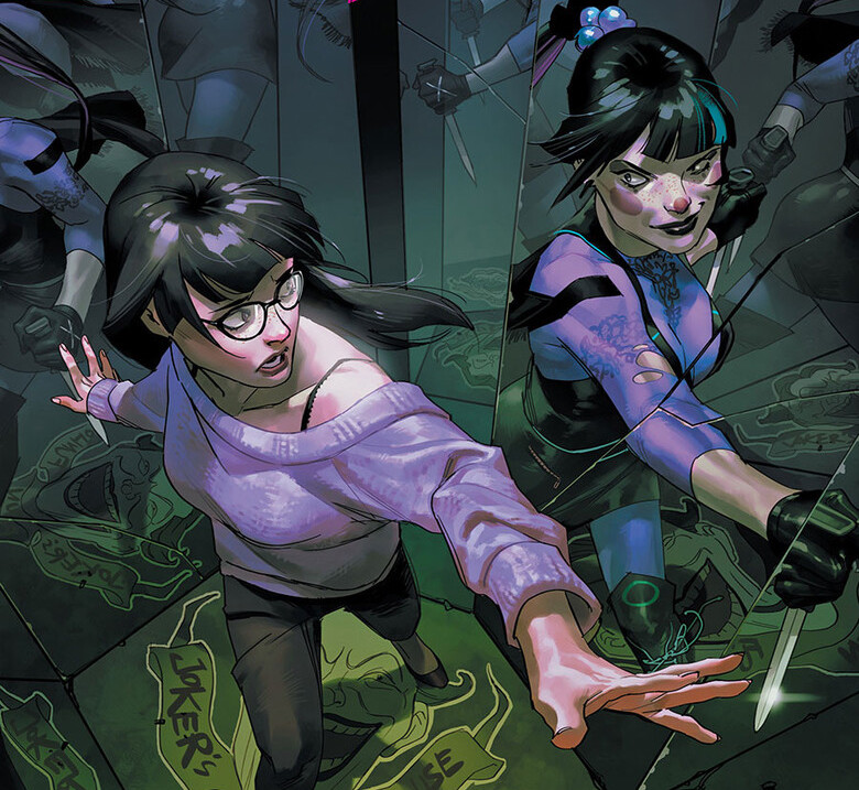 The Punchline one-shot is a journey behind the origins of the Joker's new field general.