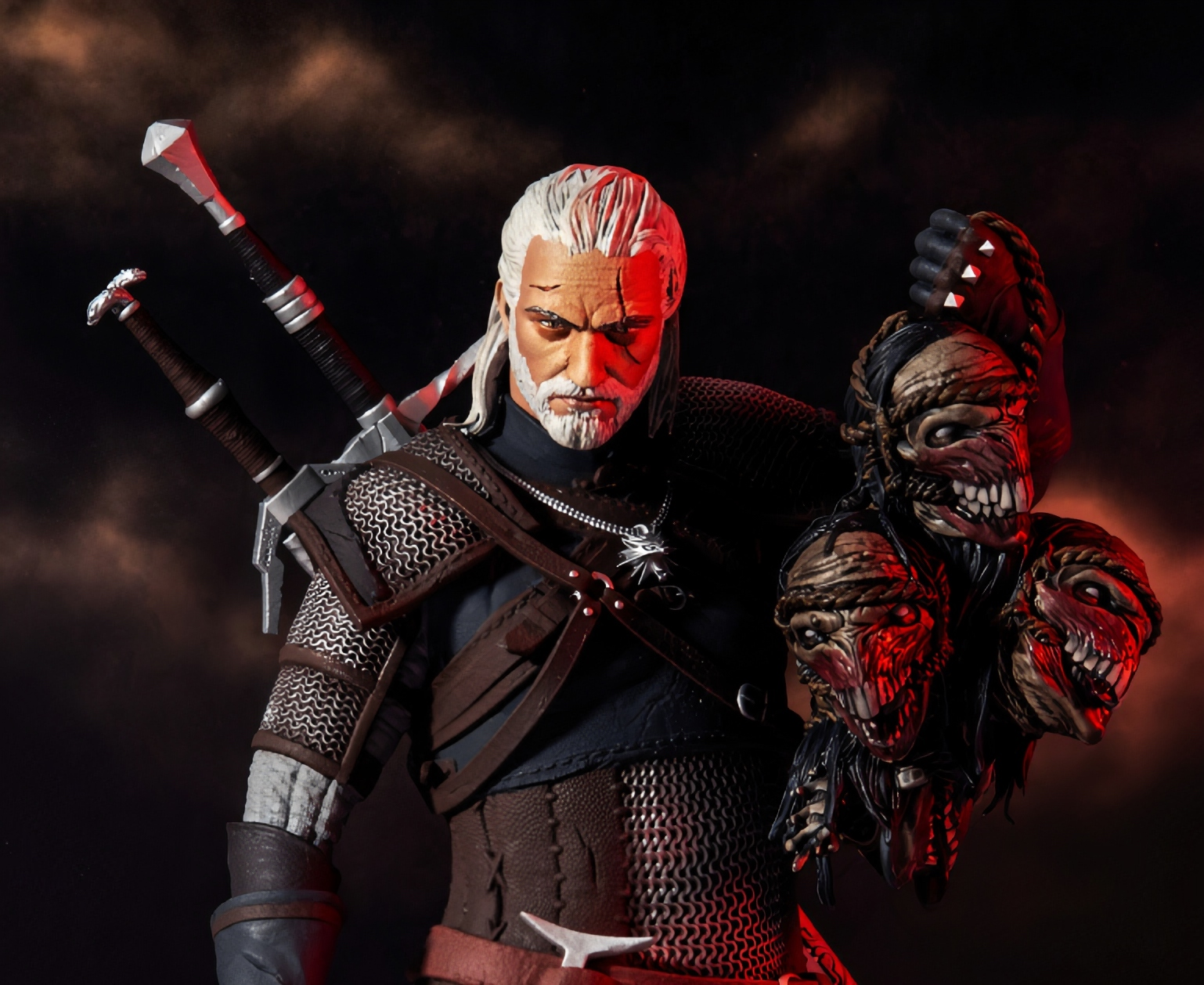 McFarlane Toys and CD PROJECT RED team up for 'The Witcher' action figures