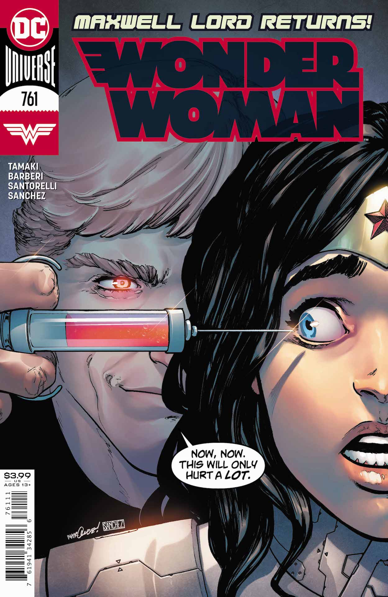 It's the team-up no one saw coming: Wonder Woman and Maxwell Lord!