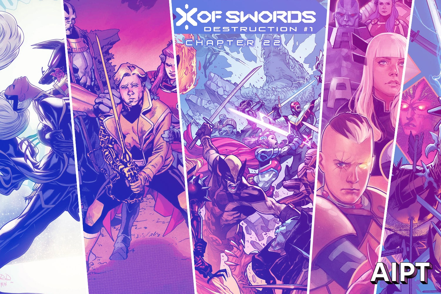 Marvel First Look: November 'X of Swords' cover art and solicitations revealed
