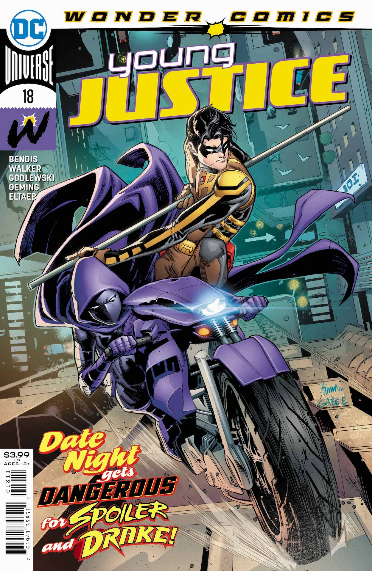 DC Preview: Young Justice #18