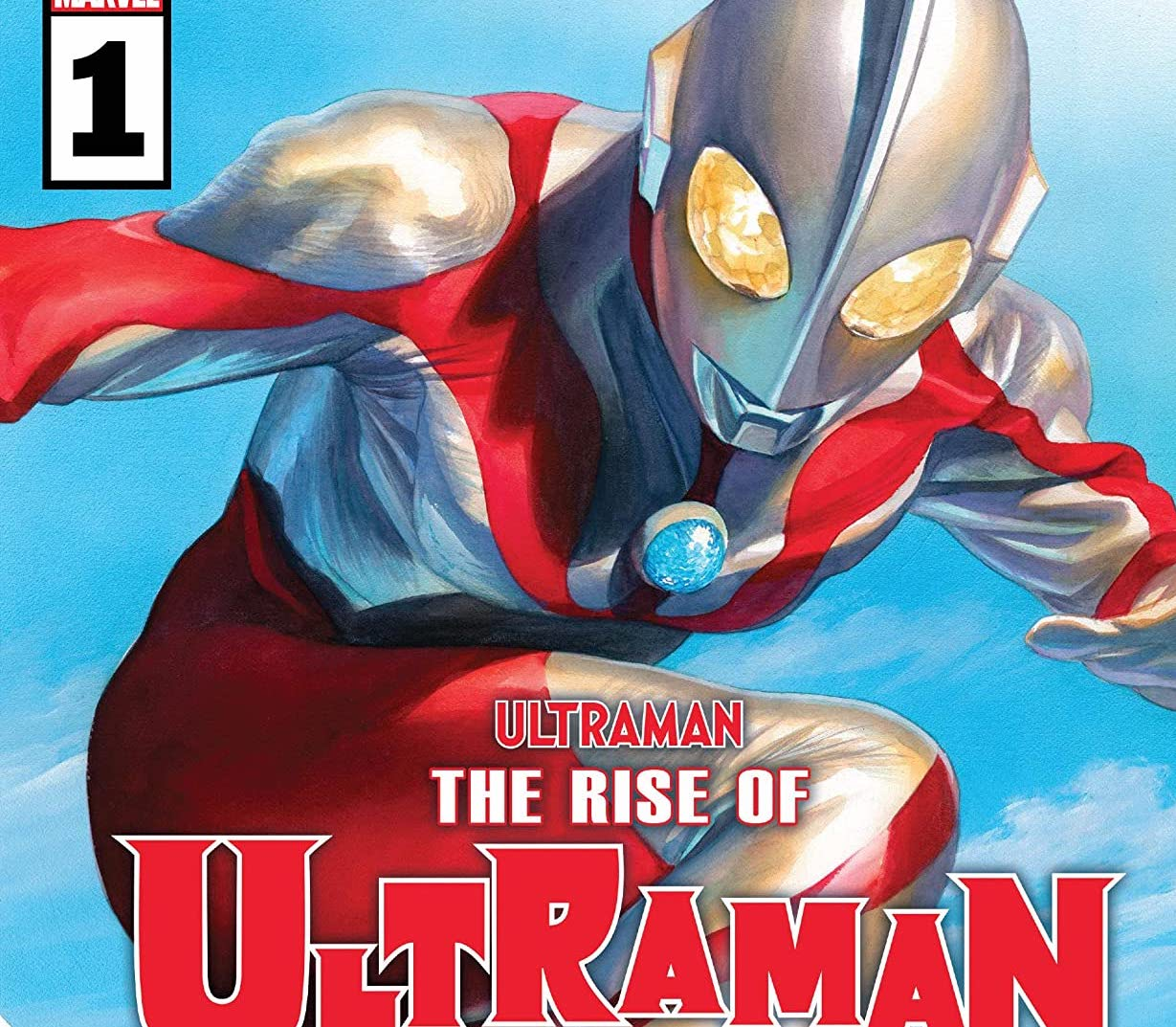'The Rise of Ultraman' #1 review