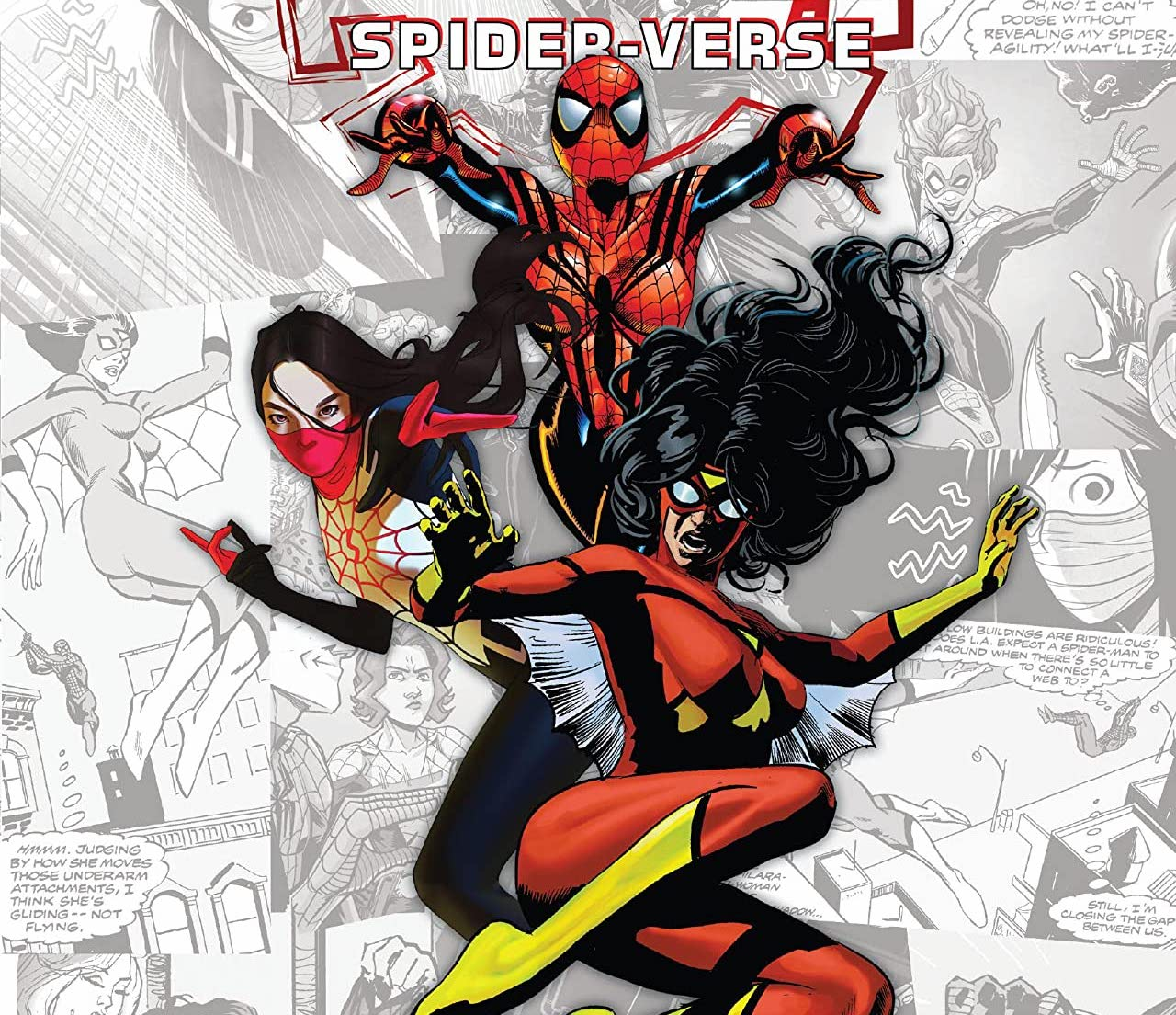 Get to know Silk, Spider-Woman, Spider-Girl, and Spiderling in this Spider-Women collection.