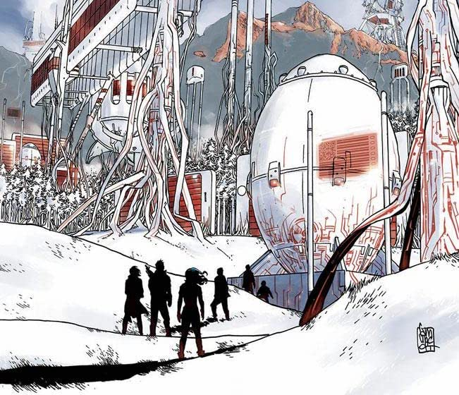 'Undiscovered Country' #8 review