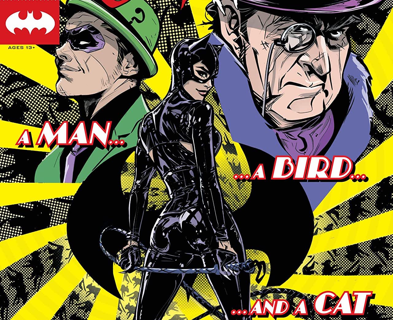 Enjoy three doses of Catwoman across three different stories.