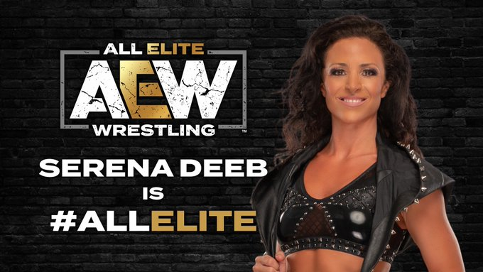 Serena Deeb signs with AEW