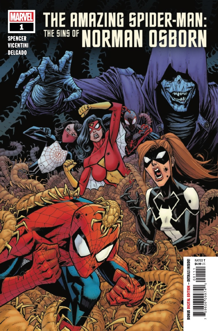 Marvel Preview: Amazing Spider-Man: The Sins Of Norman Osborn #1
