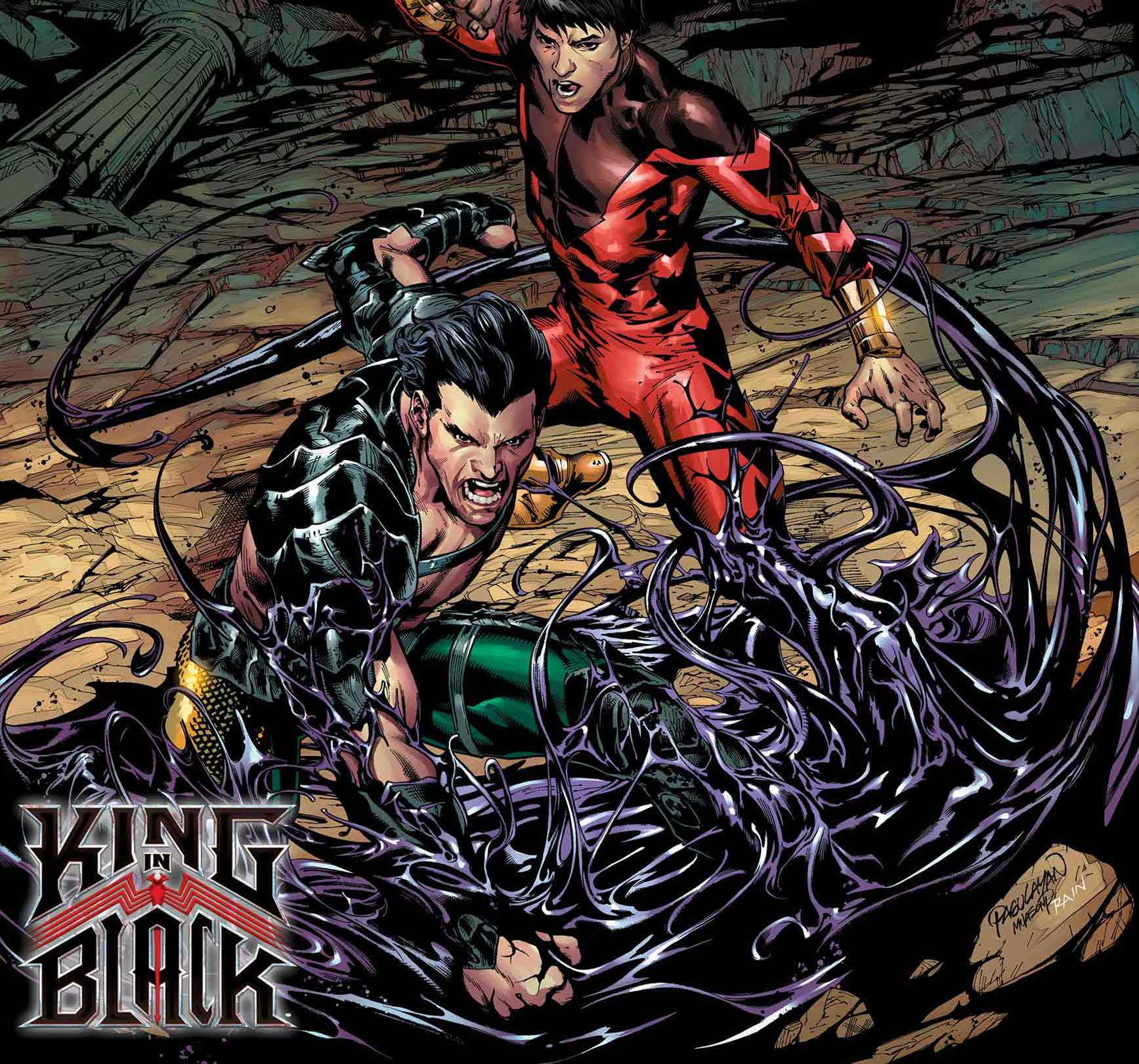 'Atlantis Attacks' #5 cover teases 'King in Black' storyline from artist Carlo Pagulayan