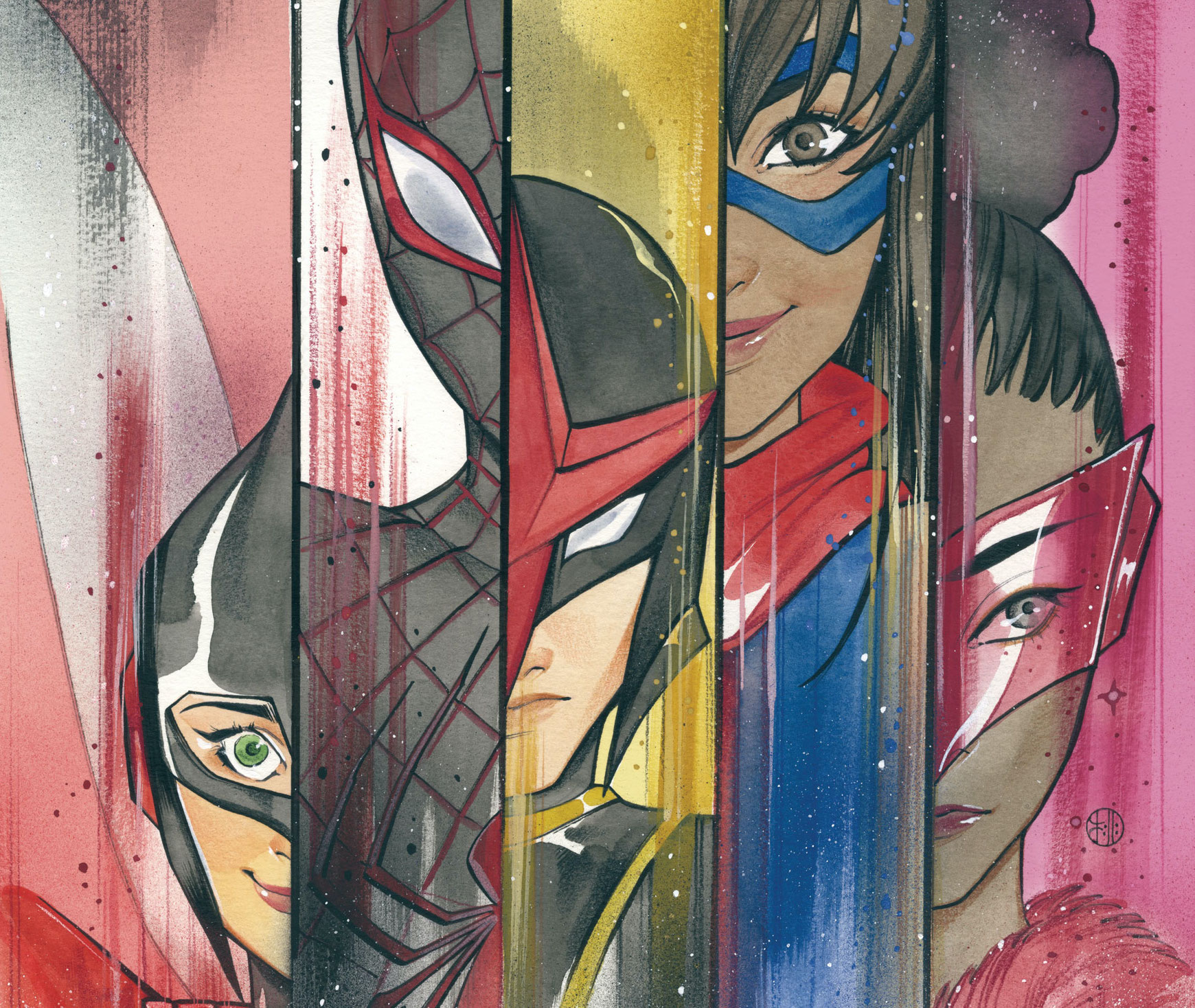 Marvel First Look: Champions #1 variant by Peach Momoko