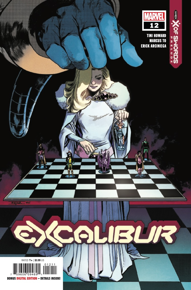 In Excalibur #12...SECRETS OF THE BOOK!