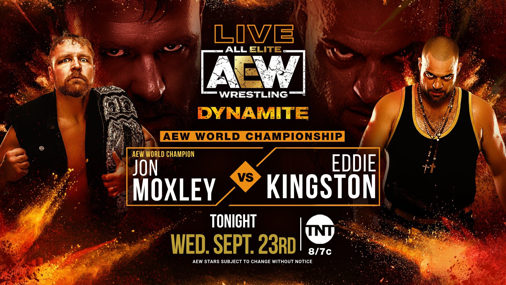 Lance Archer has COVID; Moxley will instead defend AEW Championship