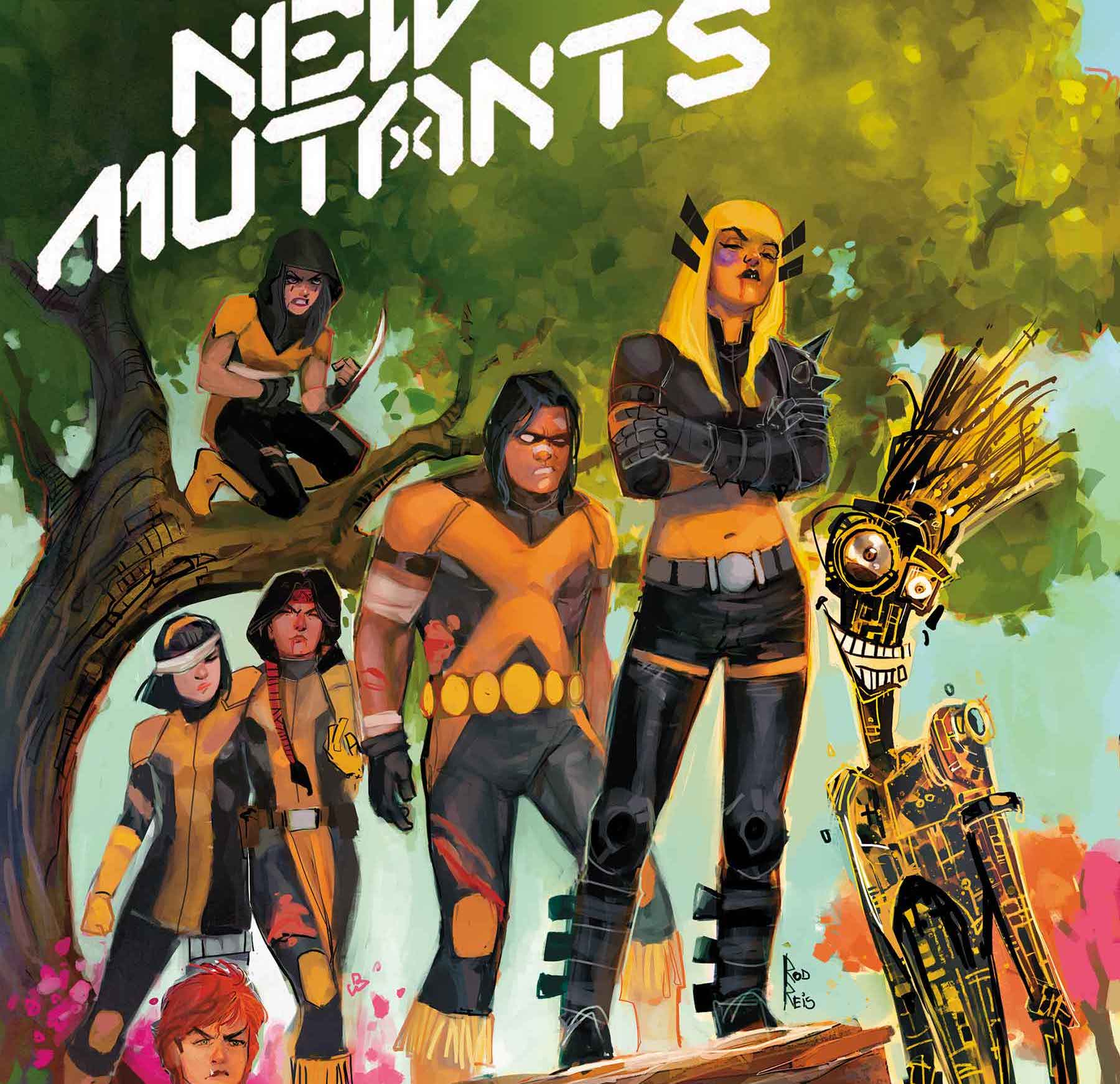 Vita Ayala and Rod Reis take over 'New Mutants' #14 this December 2020