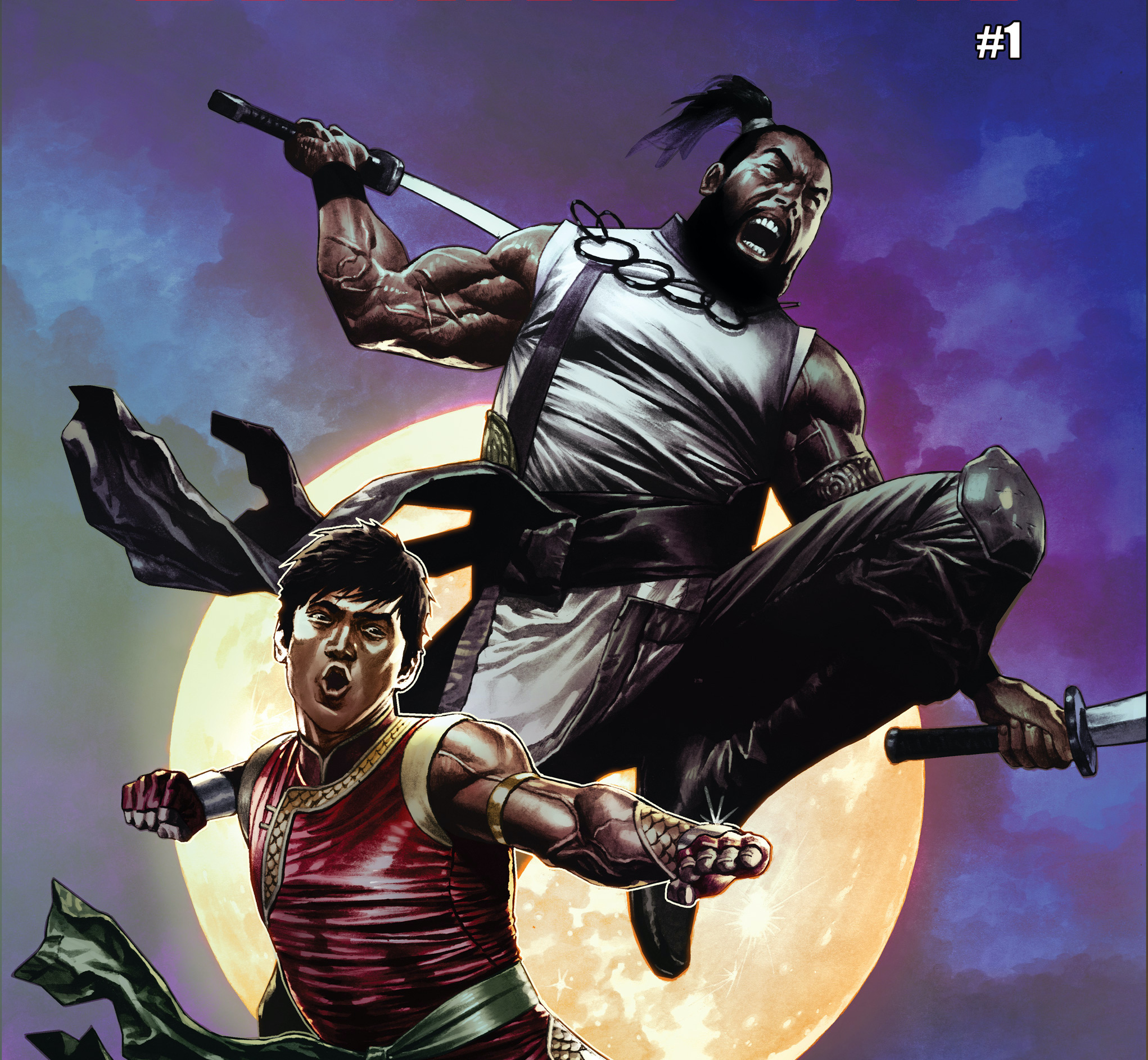 Marvel reveals Shang-Chi is getting a fierce new ally in Brother Sabre