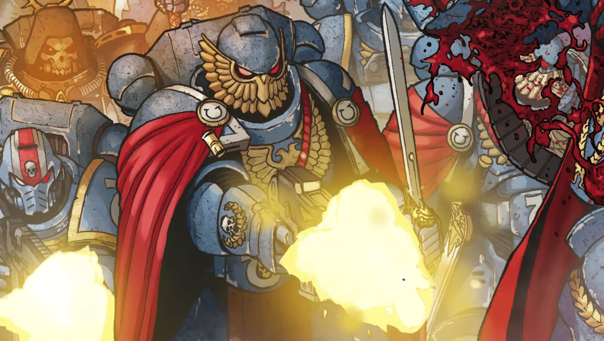 Marvel asks you to go to war with new 'Warhammer: 40,000' trailer