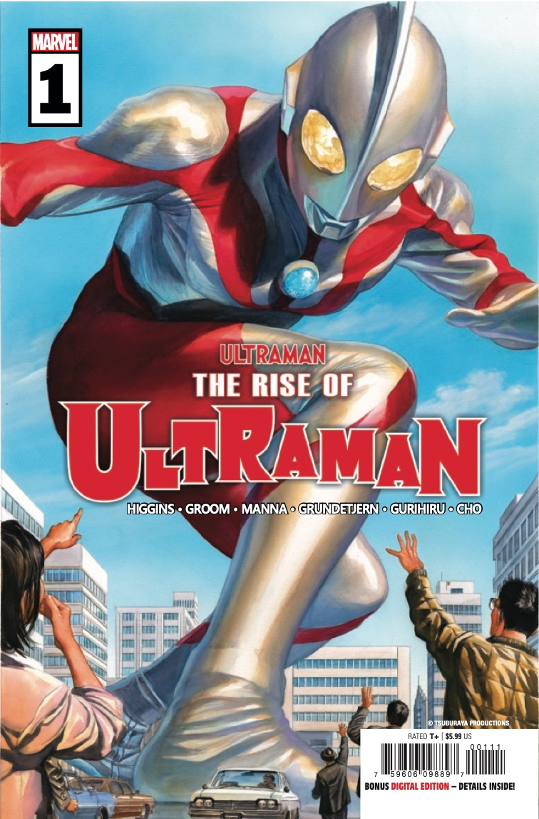 Marvel Preview: The Rise Of Ultraman #1