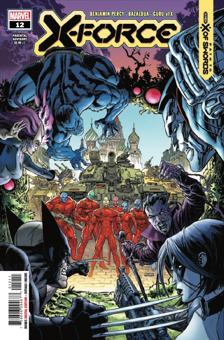 Beast wants Colossus on their side as the first drumbeats of war begin to sound in X-Force #12.