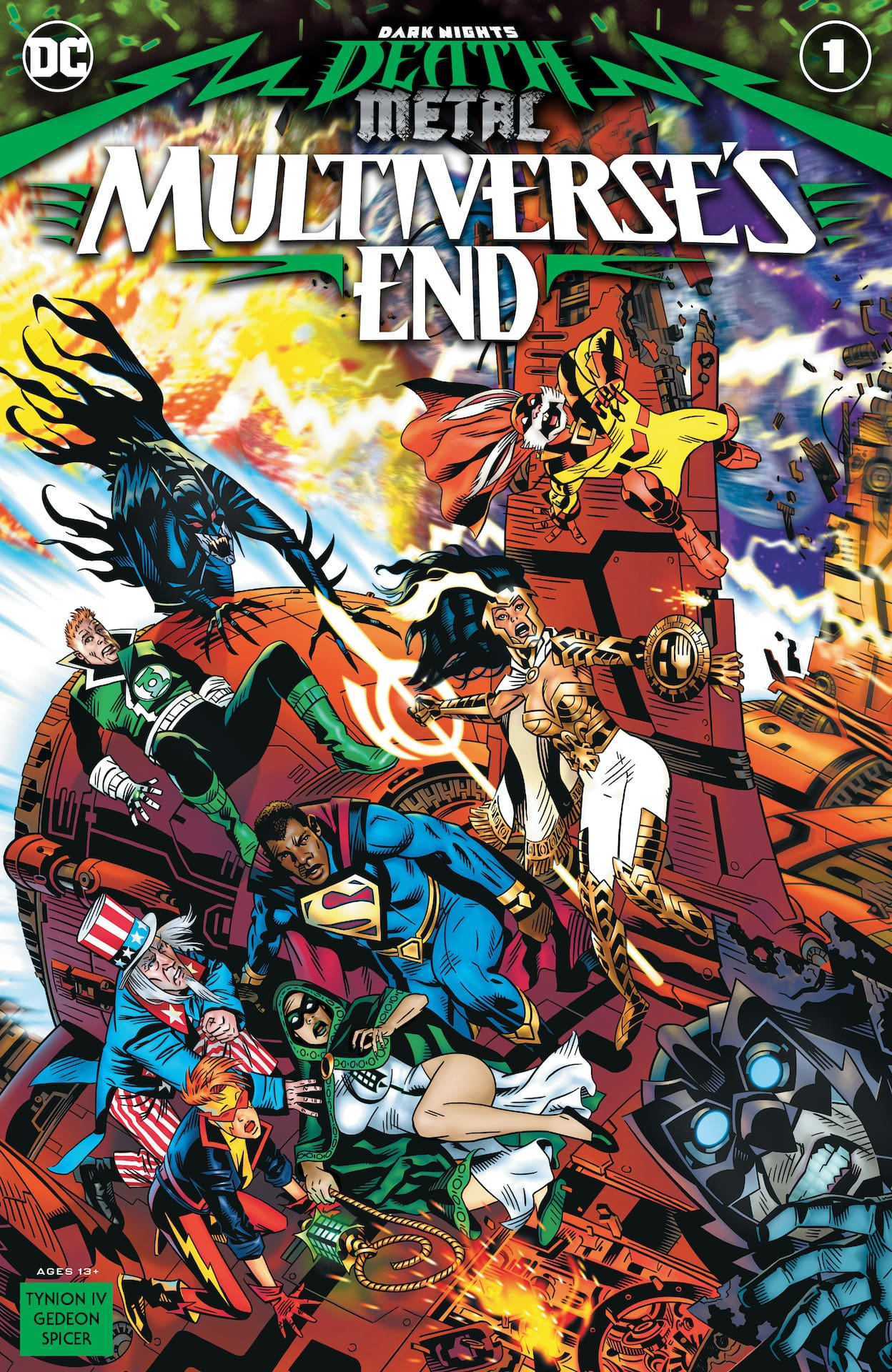 DC Preview: Dark Nights: Death Metal Multiverse's End #1