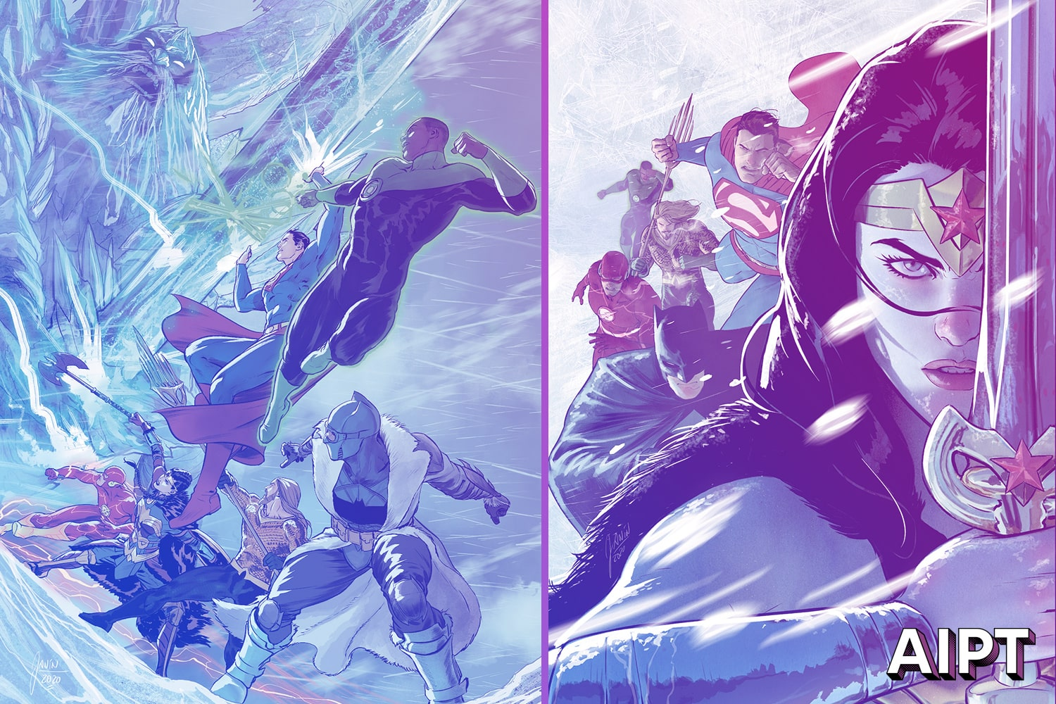 Justice League: Endless Winter is a revenge story against an ancient enemy.