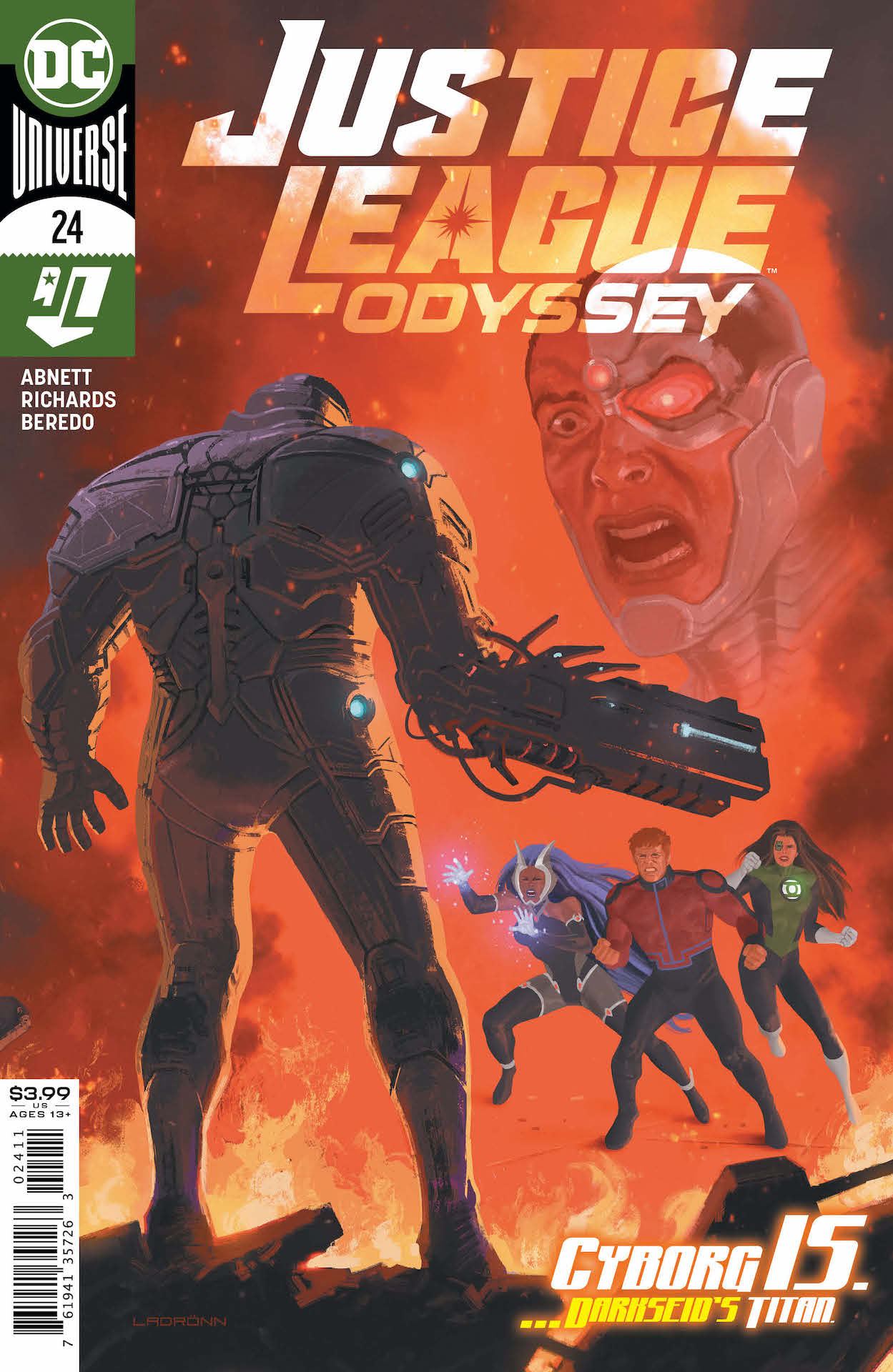 DC Preview: Justice League Odyssey #24