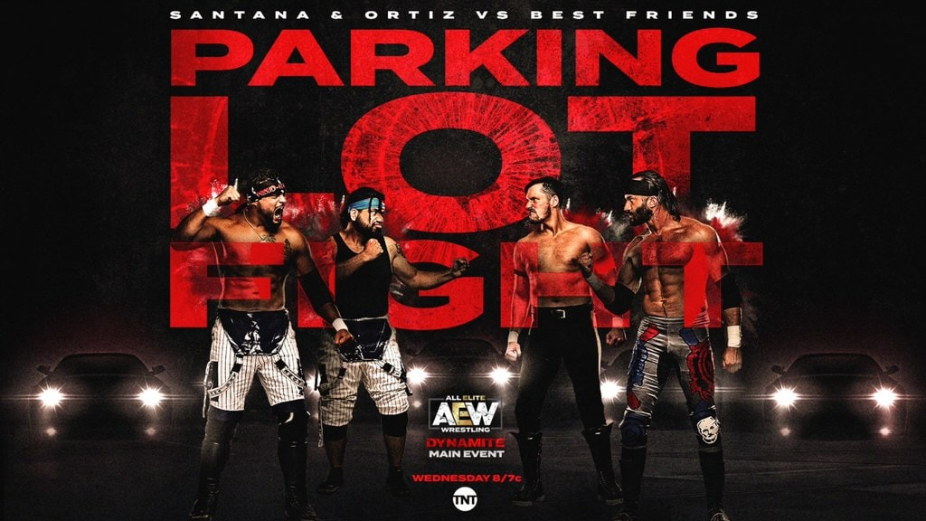 AEW Dynamite's parking lot fight was one for the ages
