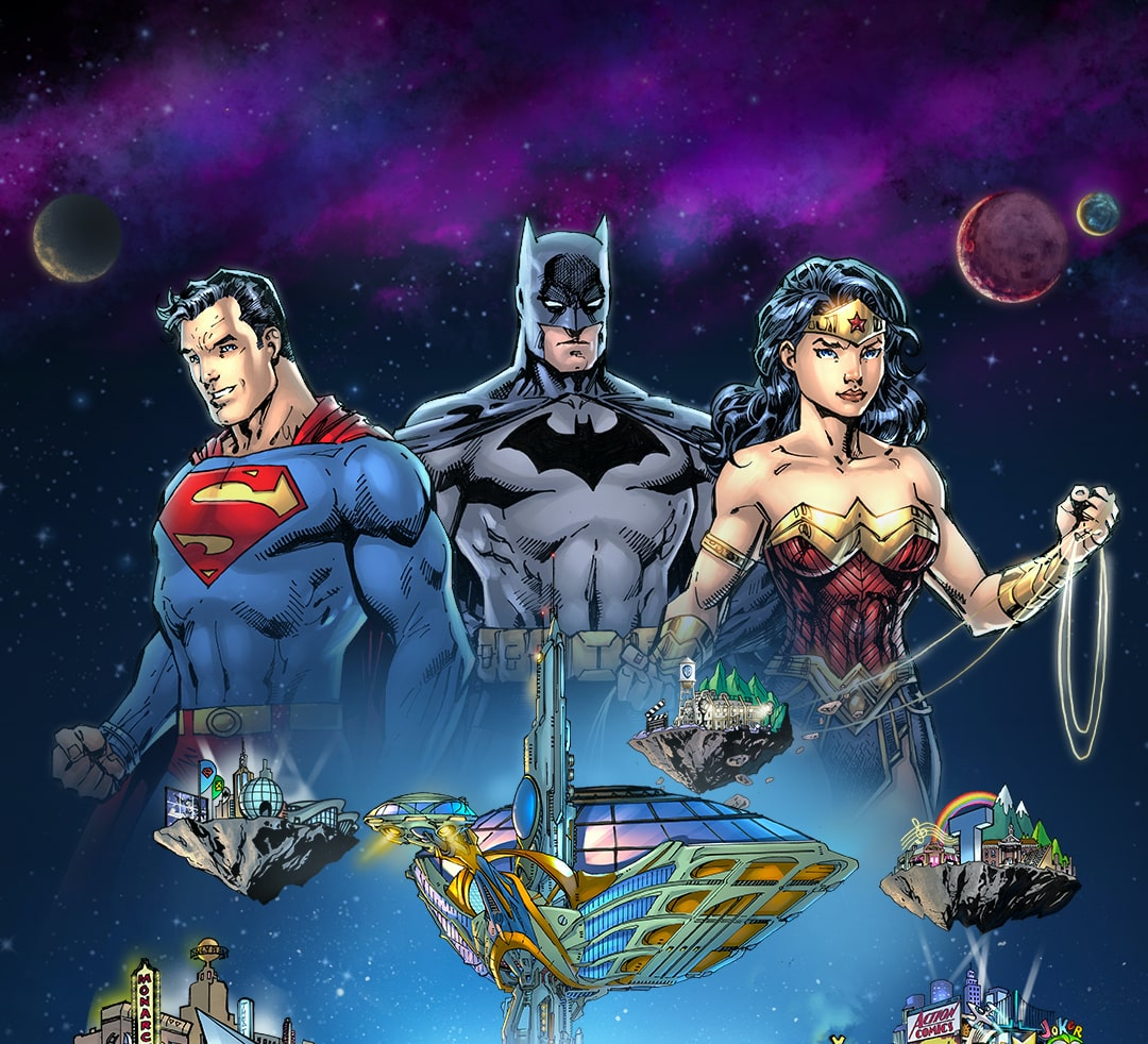 DC FanDome: Explore The Multiverse schedule revealed - what to watch in TV and comics