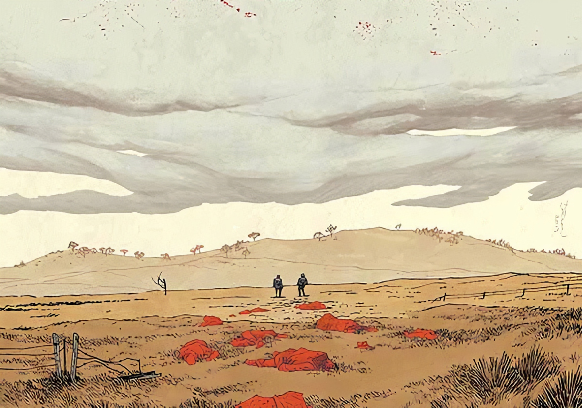 About Write It In Blood: 'A great-looking Fargo-esque tale of Hitmen… Rory McConville's a crime voice to watch.' —Rob Williams, Old Haunts Suicide Squad