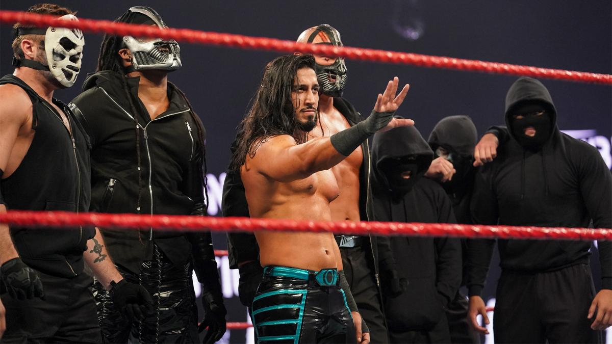 Ali as the leader of RETRIBUTION - WWE Raw