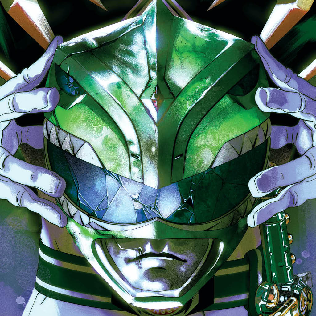 BOOM! Preview: New Green Ranger will debut in 'Mighty Morphin Power Rangers' #55