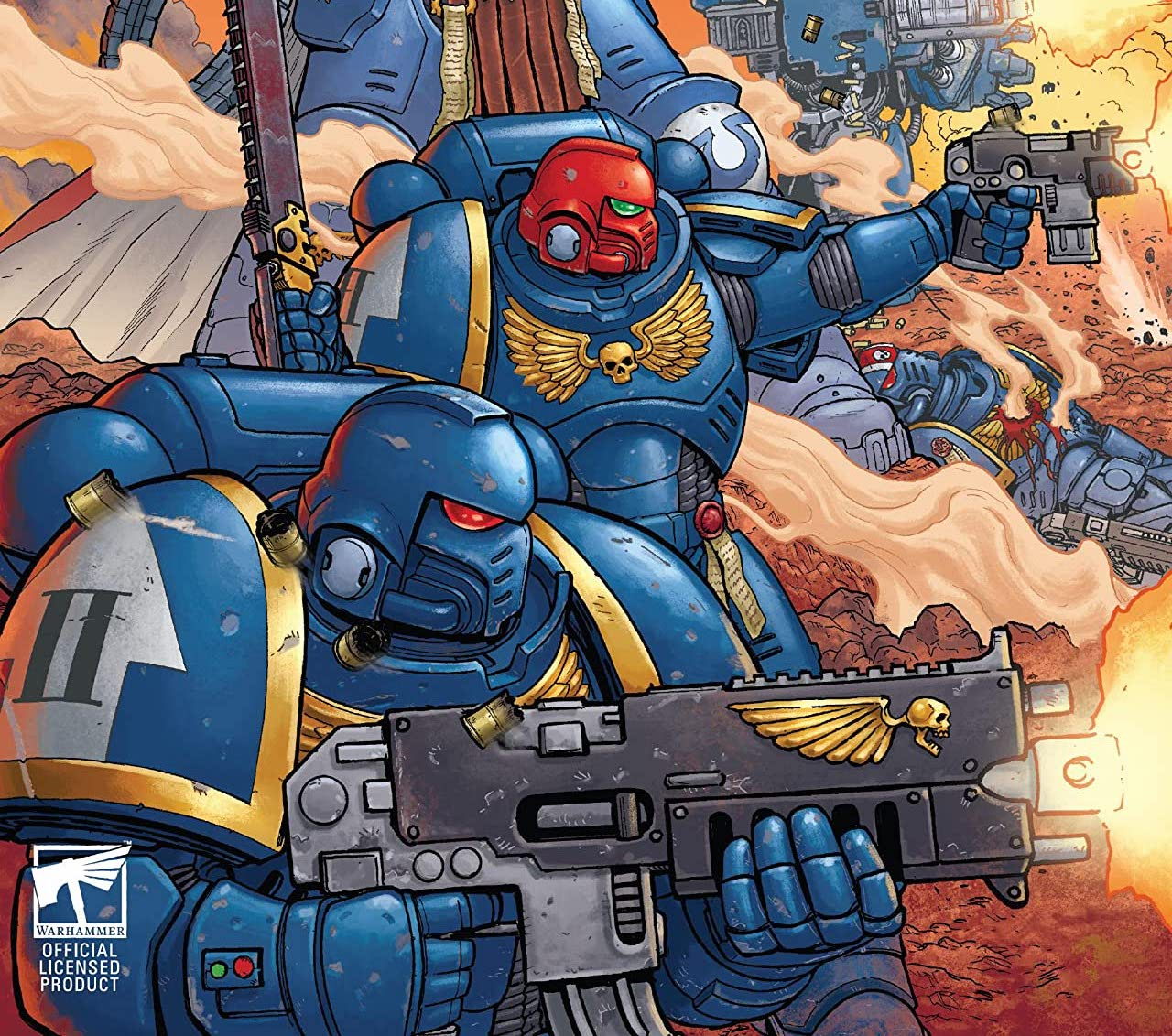 EXCLUSIVE Marvel Preview: Warhammer 40,000: Marneus Calgar #1