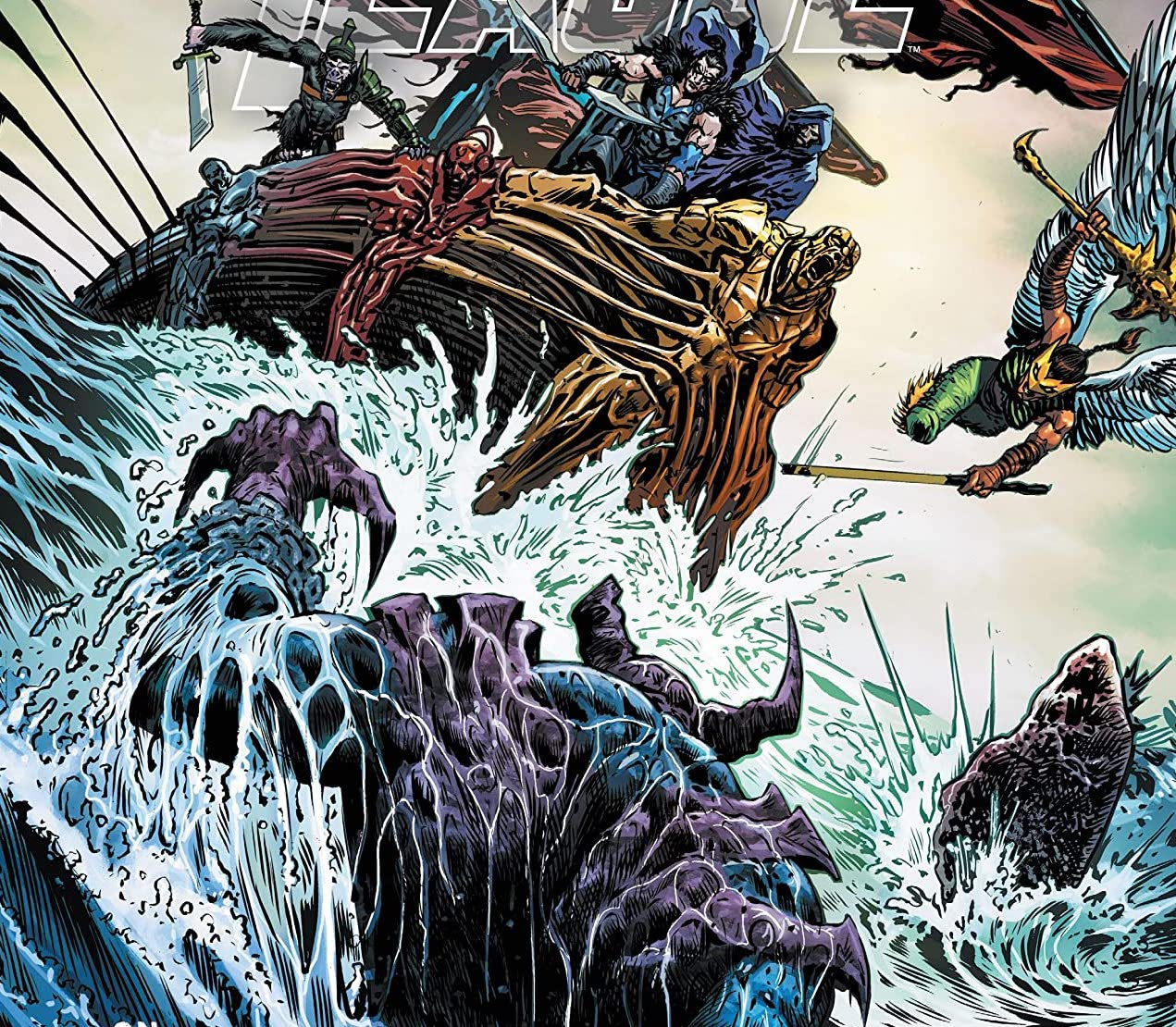 'Justice League' #55 review