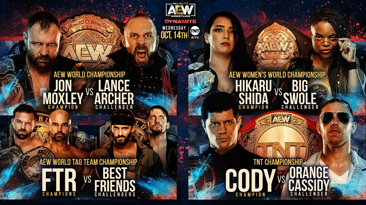 AEW Dynamite's Anniversary was 'fine,' and not much more