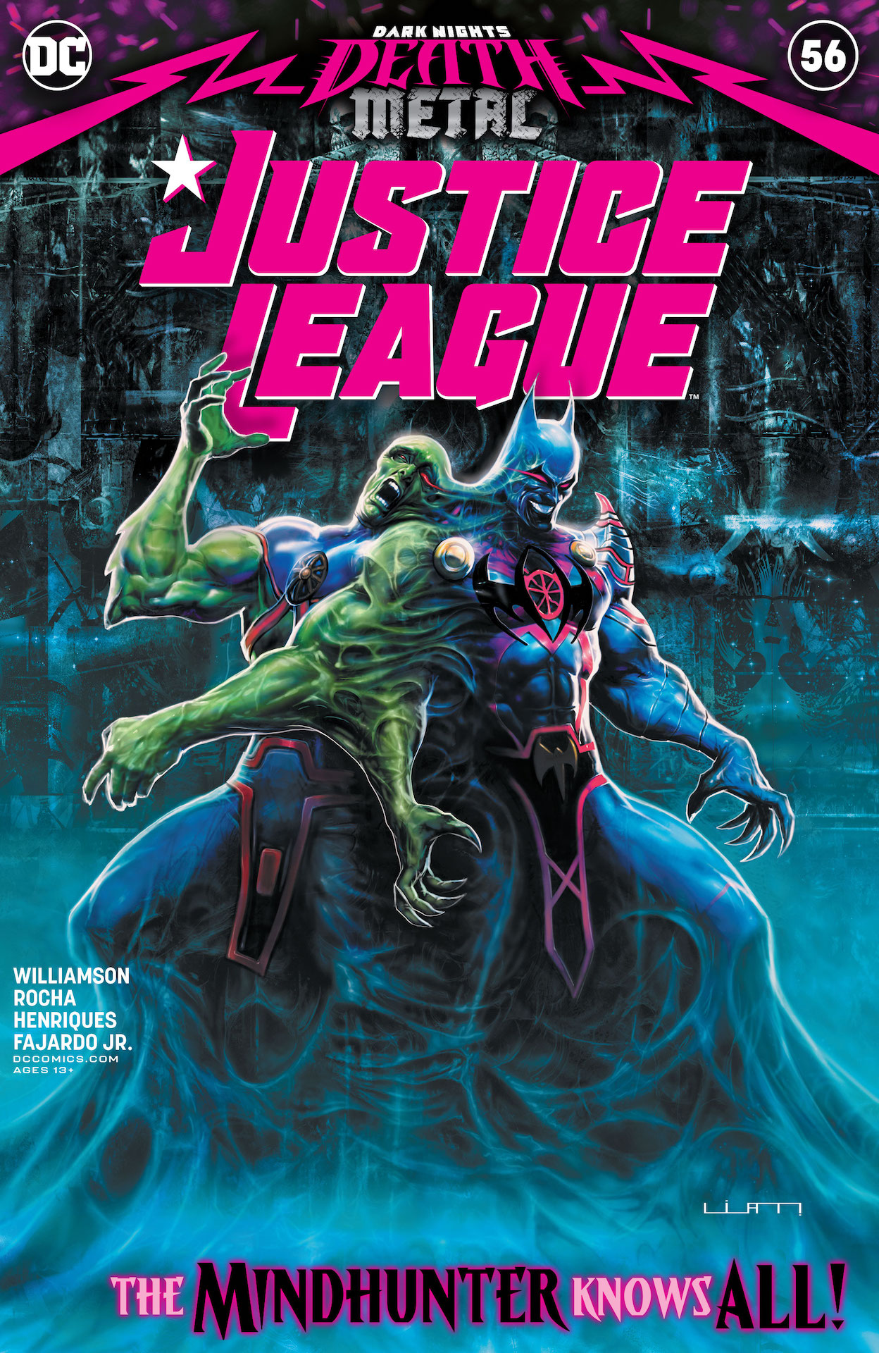 DC Preview: Justice League #56